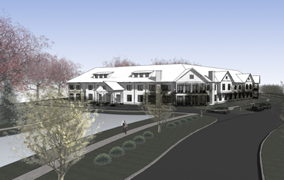 Assisted living, memory care facility under construction