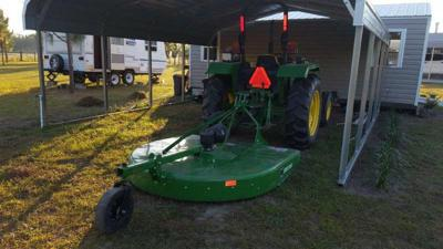 Reward offered for stolen tractor, mower
