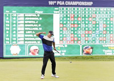 Koepka handles the stress, reaps major reward