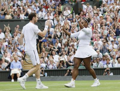 Serena holds off fellow American Riske