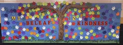 TCCHS Cool 2 Be Kind Club grows kindness tree