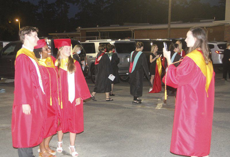 THS seniors get an in-person graduation