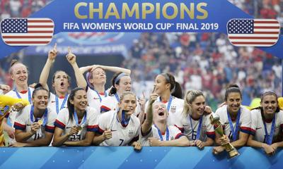 American women bask in fourth World Cup title