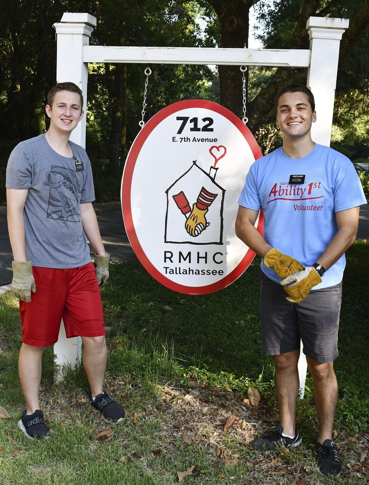 Missionaries help keep Ronald McDonald House sparkling