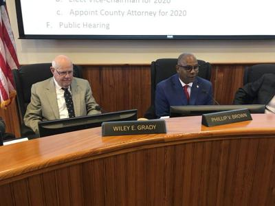 Phillip Brown takes Thomas County Commission reins