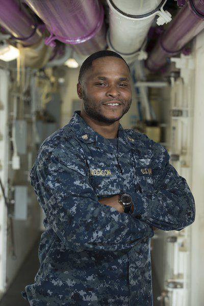 Thomasville's Anderson at sea aboard newest aircraft carrier