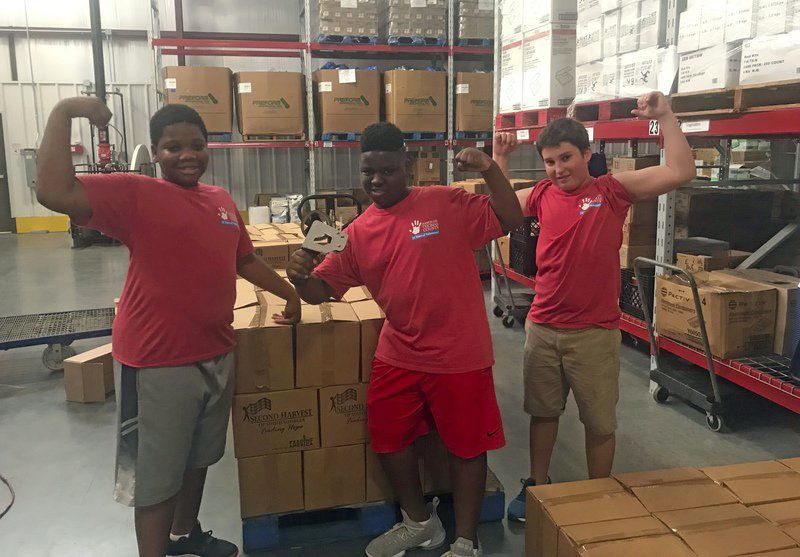 TCMS students complete HOTC projects