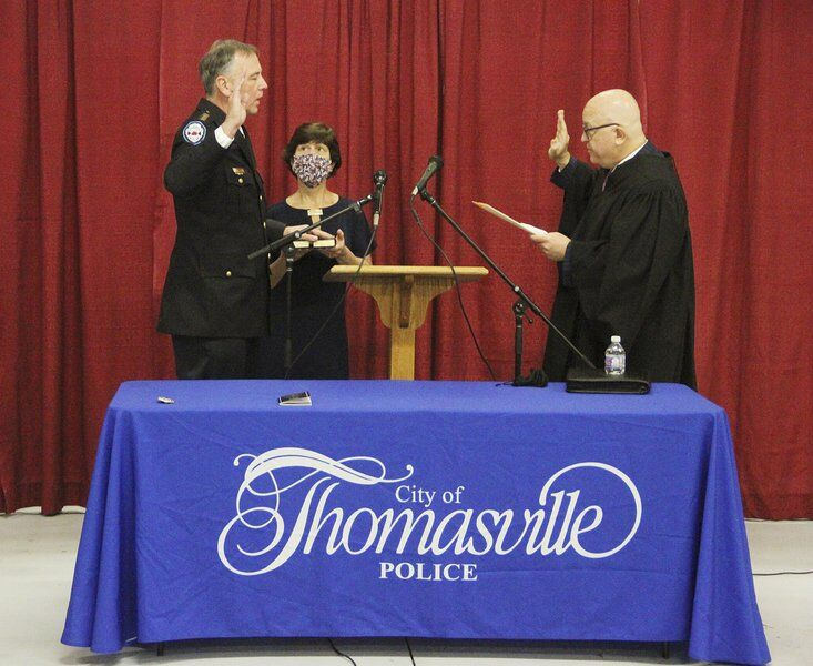 New police chief humbled by swearing-in ceremony turnout