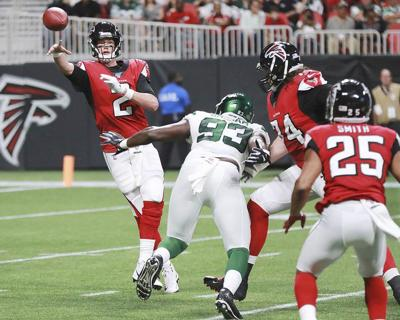Ryan sharp, but Jets beat Falcons | Sports | timesenterprise com