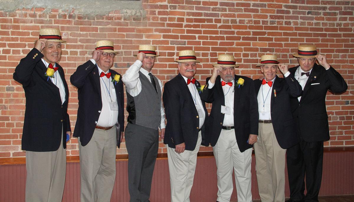 Rotary 100 men