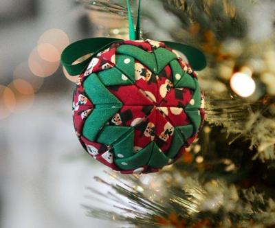 Hands-On Workshop to make fabric ornaments