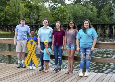 Thomasville will go gold in September for CURE Childhood Cancer