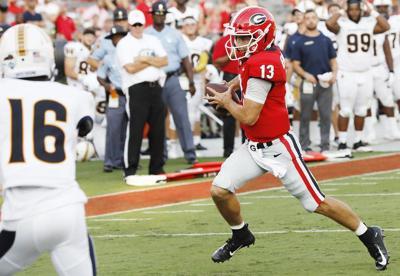 Georgia's first 3 games have NFL preseason feel