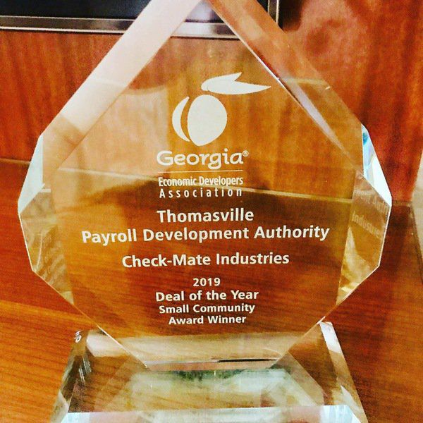 Check-Mate earns PDA 'Deal of the Year'