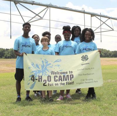 4-H camp educates children about the importance of water conservation in agriculture