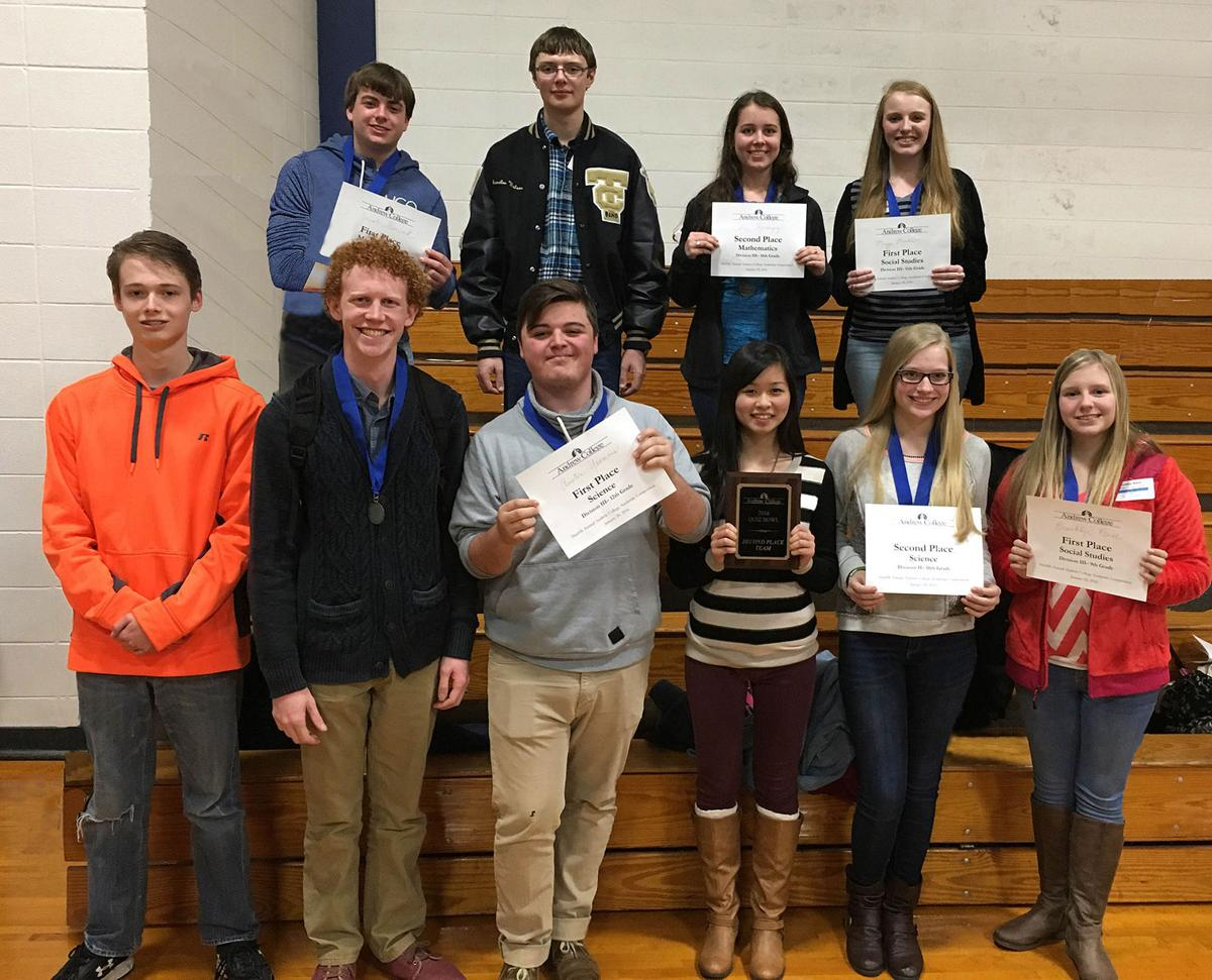 TCCHS piles up awards in academic competition | Local News ...