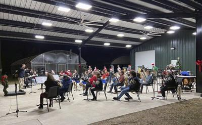 TCCHS Bands hold Christmas concert