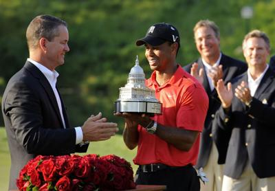 Tiger Woods passes Jack Nicklaus with win at Congressional