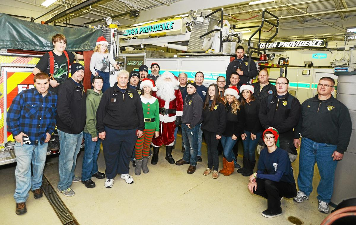 Santa Claus visits Lower Providence, courtesy of the fire department