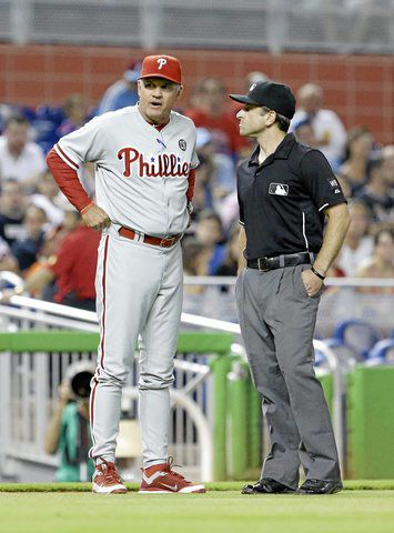 MLB: Phillies shut out against Marlins
