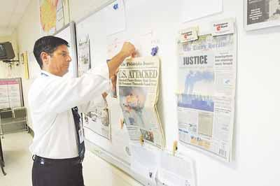 TEN YEARS LATER: Norristown Area High School holds three-part 9/11 history lesson for students (video)