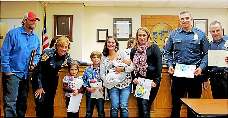 East Norriton Township Police Department honors two young heroes