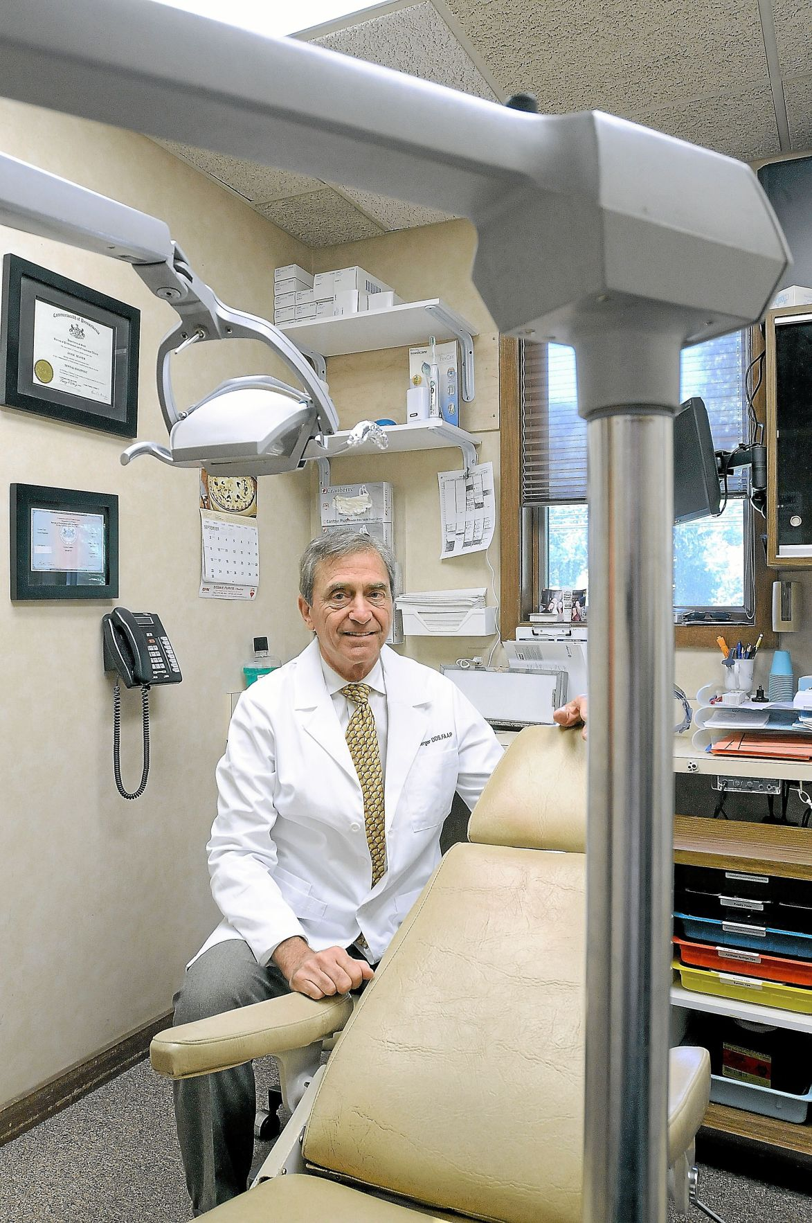 Pediatric dentist Dr  Donald Berger's career hallmarked by