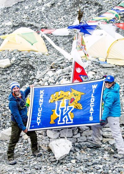 UK fans showed loyalty to Cats at Mt. Everest Base Camp