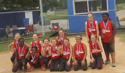 Caldwell Cardinals Softball brings home second place
