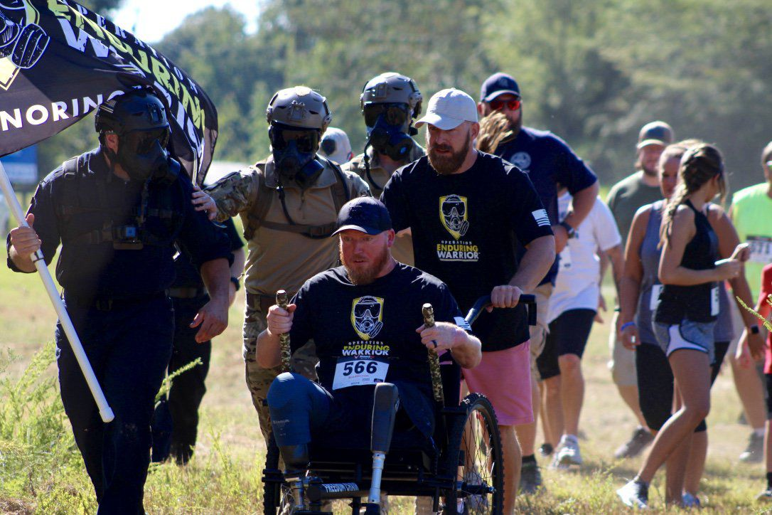 Local Veterans honored at Warrior Challenge