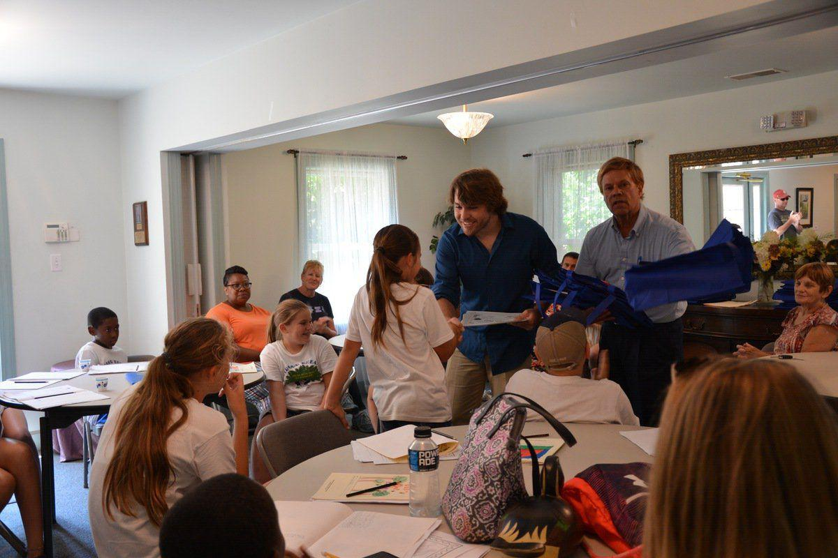 Local youth participate in Outdoor Dreamers camp