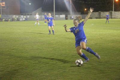 Lady Tigers spread wealth in shutout