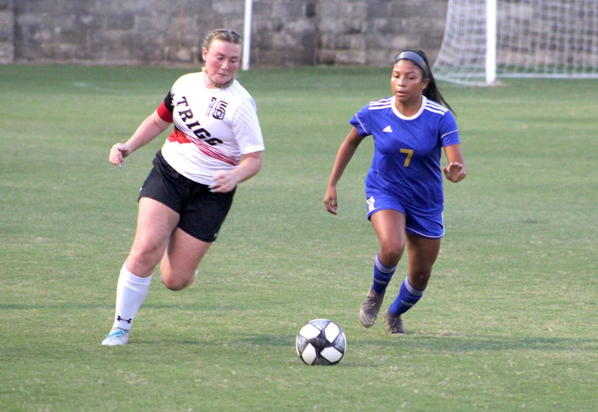 Girls' soccer faced tough competition this season