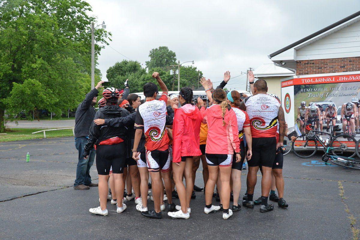 Removal Riders visit Princeton