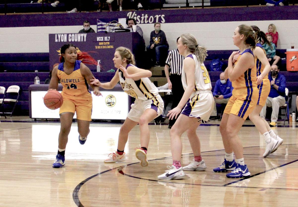 Lady Tigers take tough 46-39 loss to Lyon County