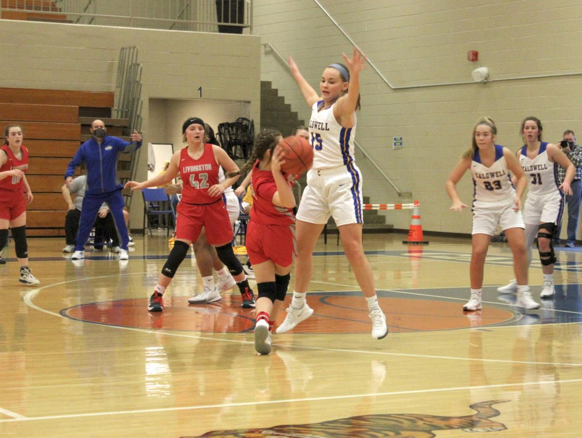 Lady Tigers push past Livingston Central in Saturday matchup