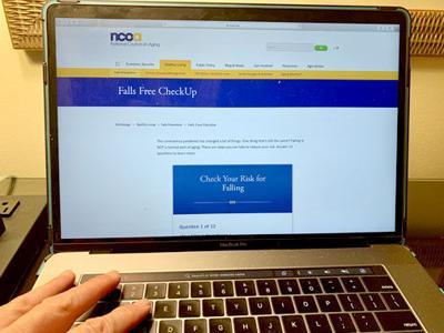 Free Online Survey Alerts Older Adults to Risks of Falling, a Major Hazard