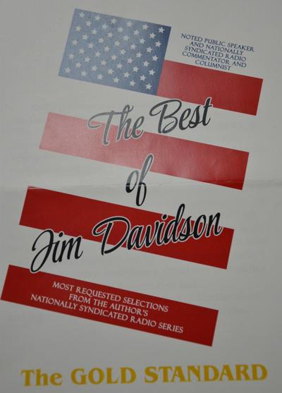 Columnist Davidson announces book