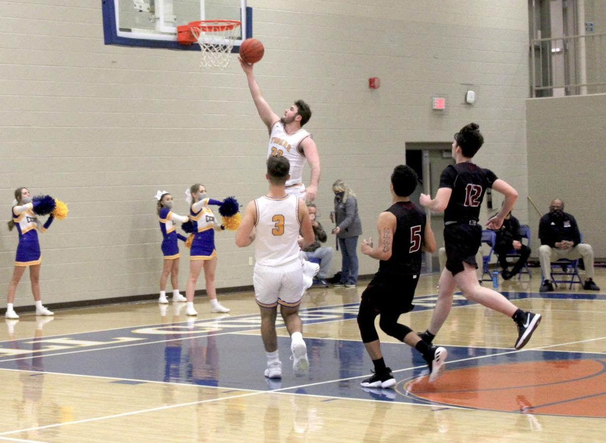 Tigers hold rival Maroons close in District 7 loss