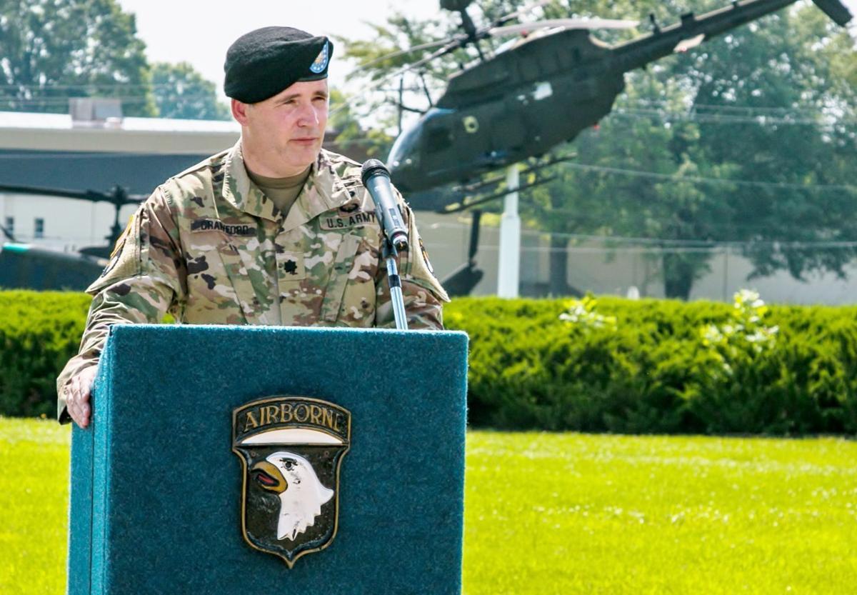 Battalion commander has ties to Princeton