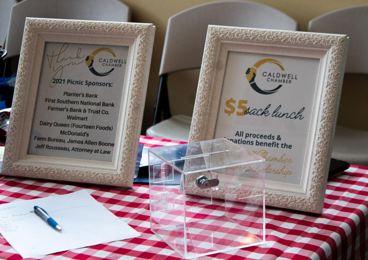 Chamber picnic serves 300 and benefits senior scholarship