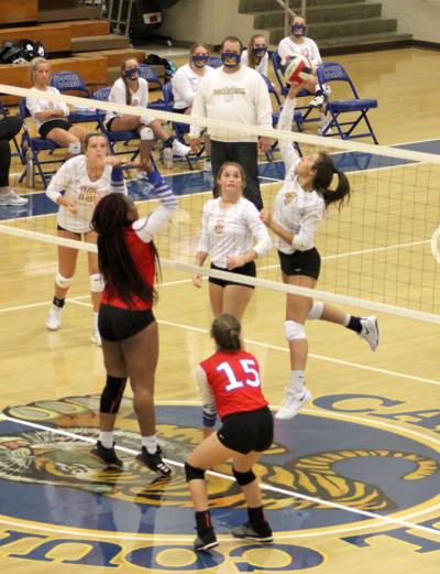 Volleyball sweeps through this week's competition