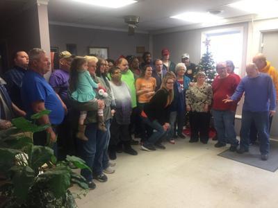 Optimist Club, Pennyroyal Industries enjoy holiday fellowship