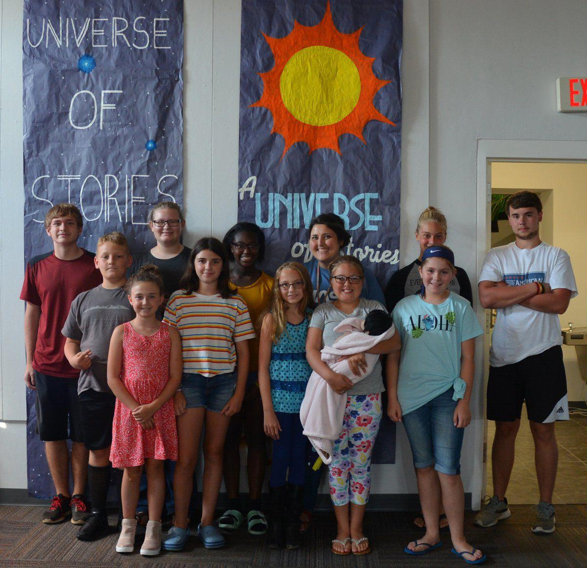 Library holds end-of-summer celebration