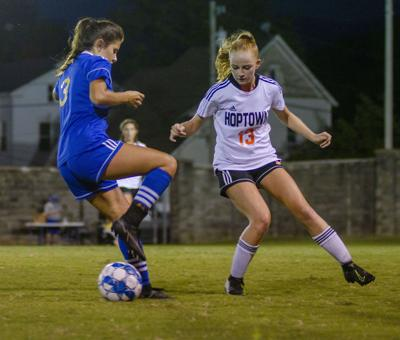 Lady Tigers shut out by Hoptown