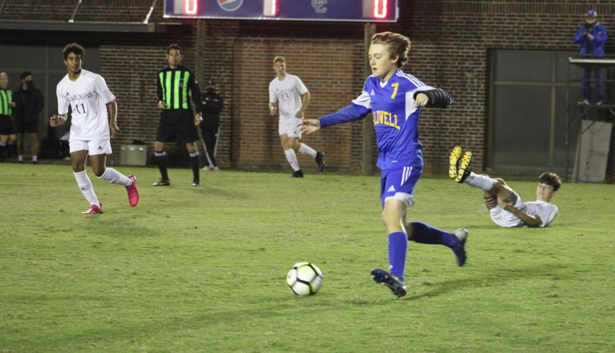 Reed looks back at improving boys' soccer team