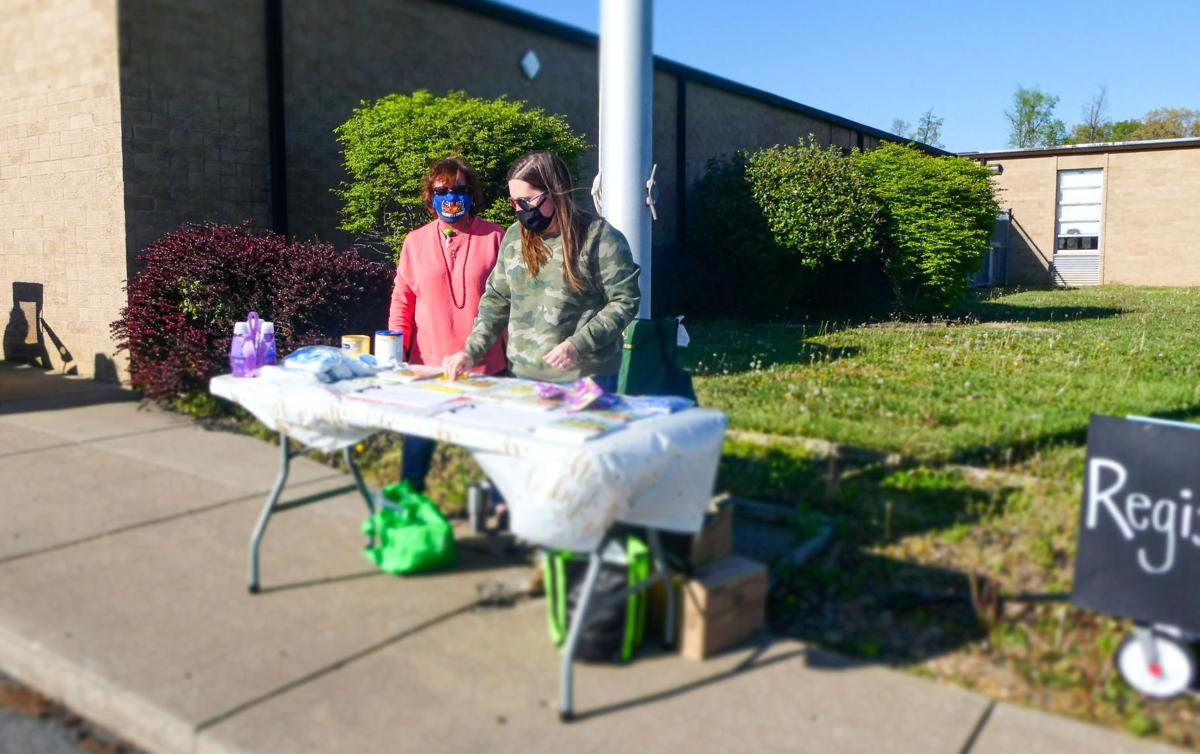 Community baby shower takes place outdoors pic1
