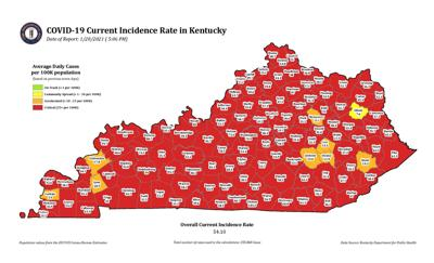 COVID-19 incidence rate declining in Caldwell County