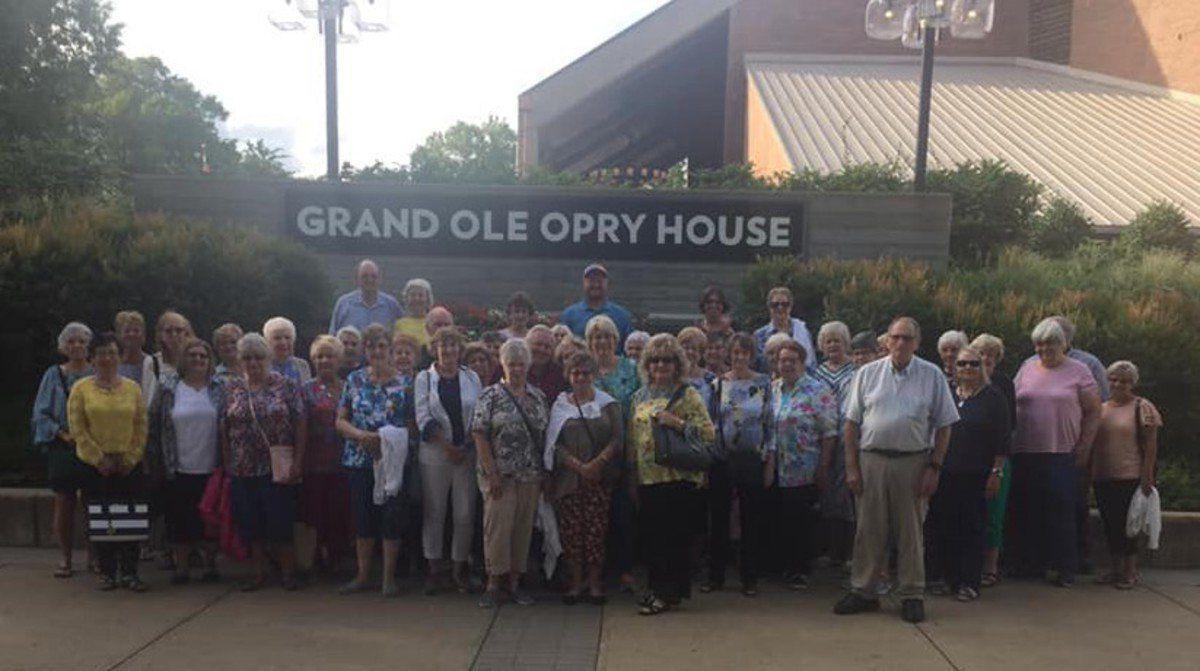 Senior group takes trip to Nashville