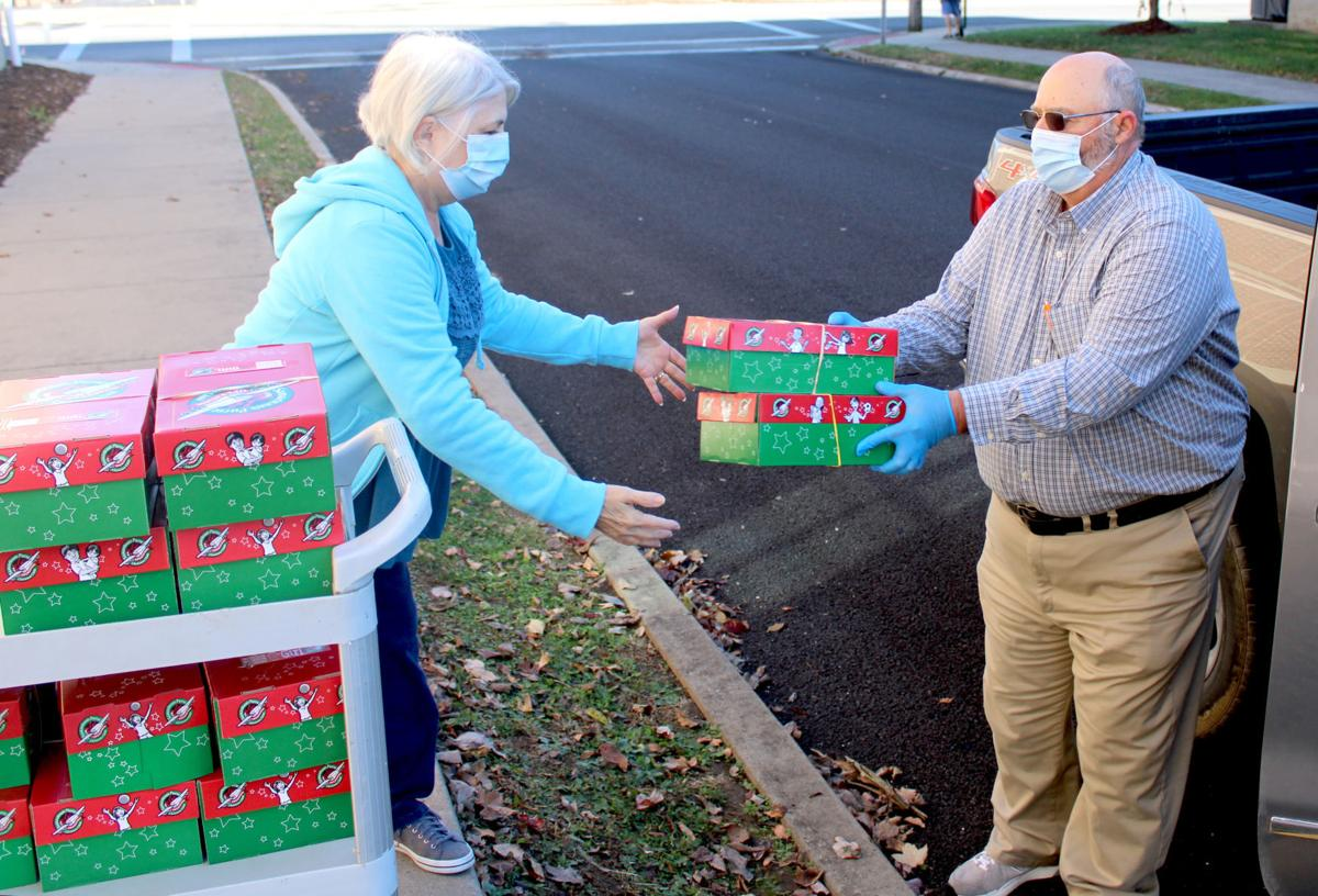 First Baptist begins collecting shoeboxes for global holiday project